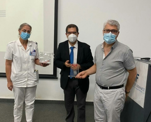 Remerciements le 26 octobre au Pr. Wissam El Hage du CHU de Tours pour son aide à l'AFMM